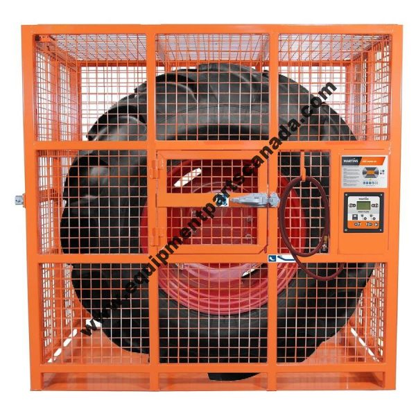 AUTOMATIC HD TIRE INFLATION CAGE 82'' OEM MIC-AUHD-82
