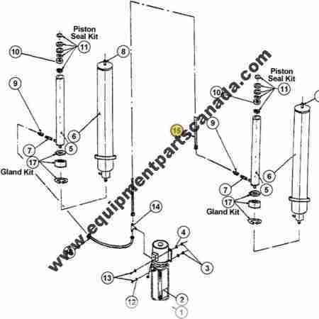 WHEELTRONIC HYDRAULIC HOSE (SHORT) OEM 2-1230