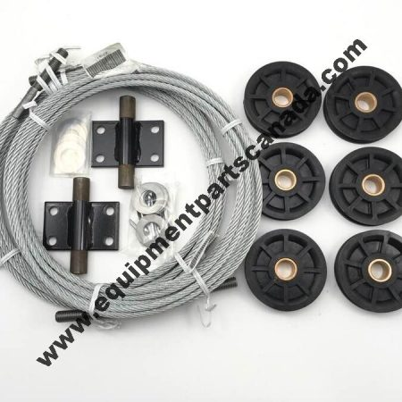 ROTARY SP80 SP84 CABLE AND SHEAVE REPLACEMENT KIT OEM N572, FJ719-1