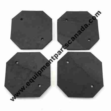 FORWARD PAD KIT 994105 HEAVY DUTY 4 PCS WITH HARDWARE