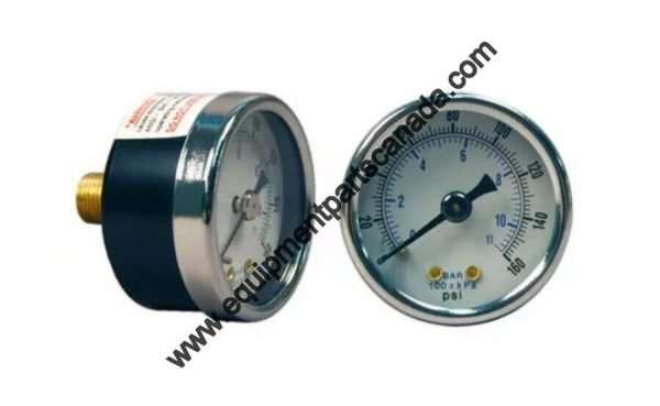 TIRE CHANGER PRESSURE GAUGE 0-160 PSI OEM VARIOUS