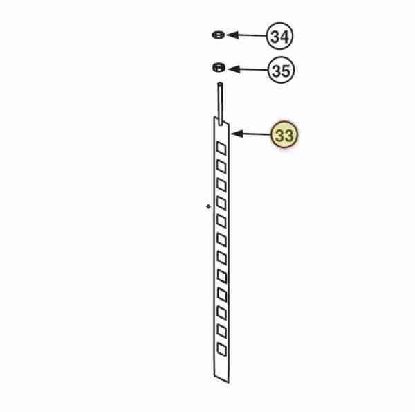 ROTARY SAFETY LOCKBAR FOR AR123 / SM123 OEM S120028