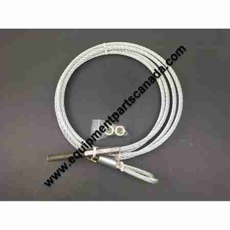 HYDRA LIFT 4 POST OPEN BEAM & 68CB LIFTING CABLE OEM 78581