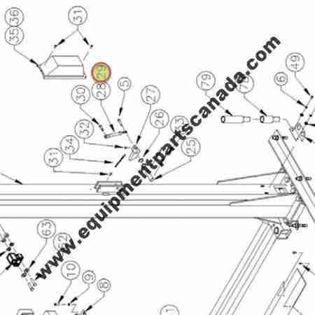 WHEELTRONIC AIR CYLINDER OEM 1-2425