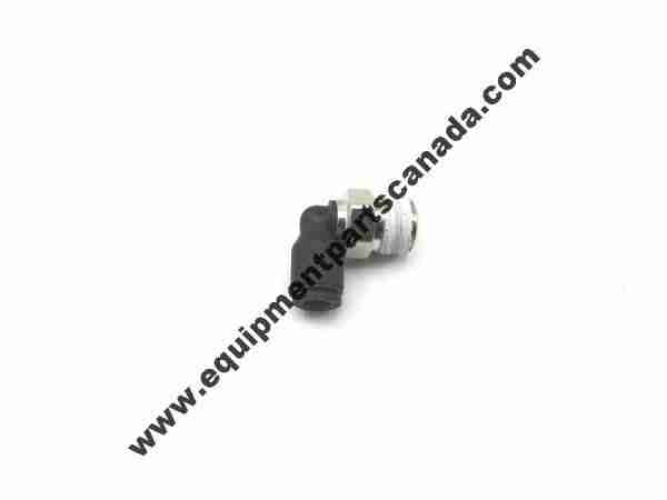 """MALE ELBOW AIR FITTING 5/32 OR 4MM PUSH LOCK - 1/8"""" THREAD OEM VARIOUS"""