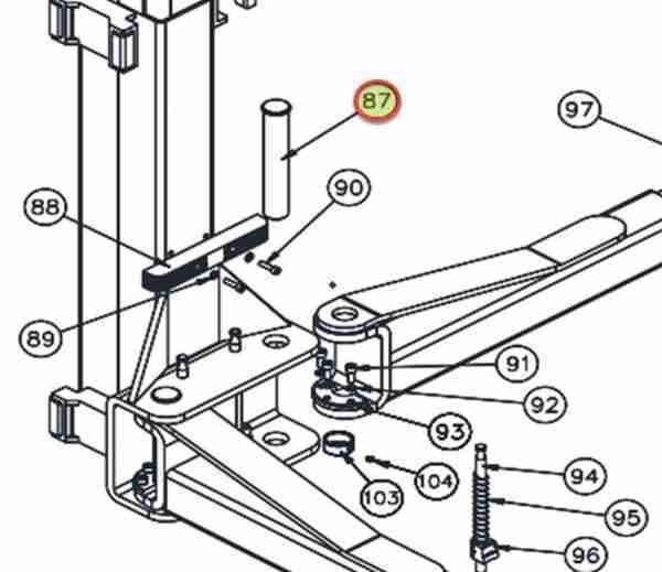 WHEELTRONIC ARM PIN JSJ6-11 OEM JSJ6-11