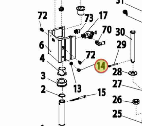 """10-32 X 1/4"""" LONG, SBHCS OEM 8182364"""