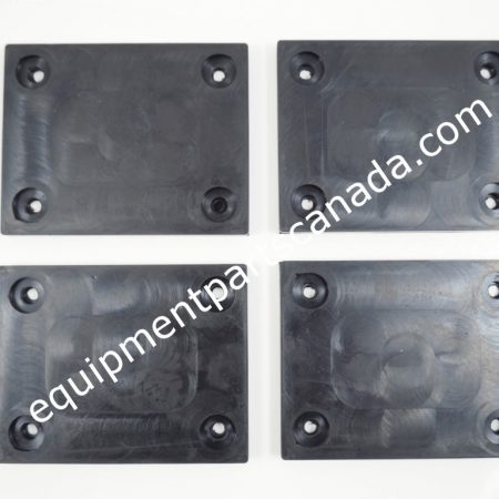 ROTARY FJ6213 LIFT SPO12 RUBBER PAD KIT 4 PCS WITH HARDWARE