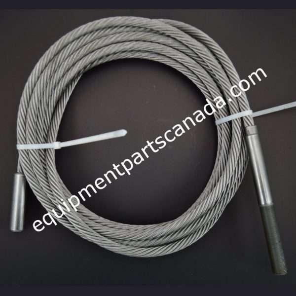 WHEELTRONIC 18000 LB 4 POST LIFT CABLE RIGHT REAR OEM 2-1363