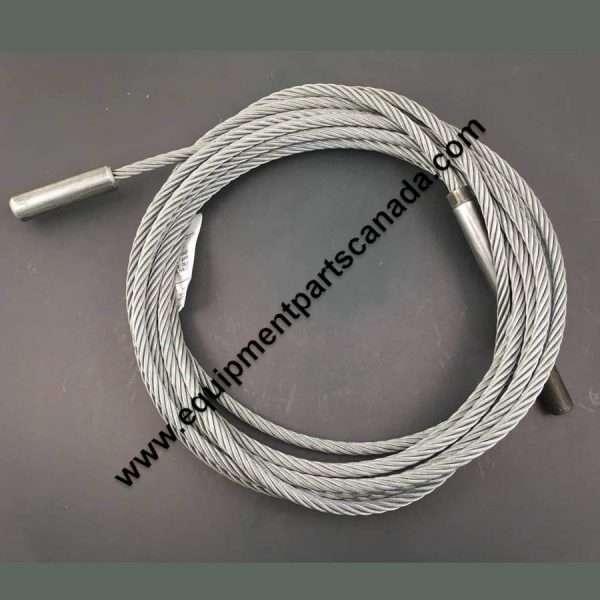 "WHEELTRONIC 12402XT (210"" W/B) LENGTH 4 POST CABLE LEFT REAR OEM # 2-1679"