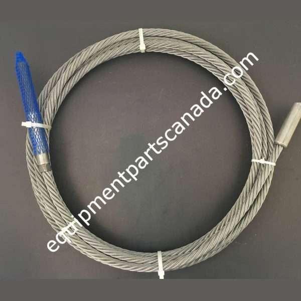 WHEELTRONIC 12000LB 4 POST QUAD RACK LEFT FRONT CABLE OEM 2-0539