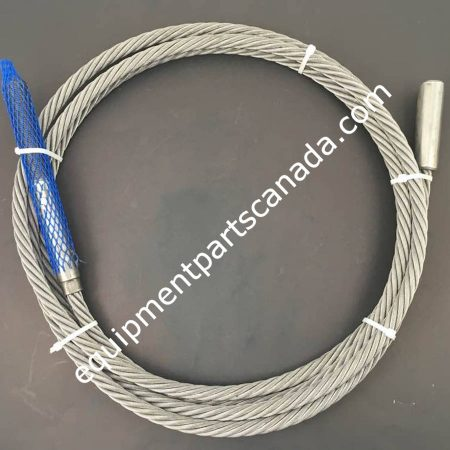 WHEELTRONIC 12000LB 4 POST QUAD RACK LEFT REAR CABLE OEM 2-0540