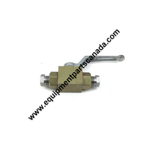 HYDRAULIC BALL VALVE WITH REDUCERS 1/2 TO 1/4 NPT