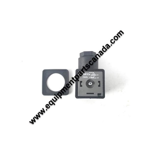 24V AC RECTIFIED DIN CONNECTOR - USED WITH D36 COILS FOR 24V AC SYSTEM