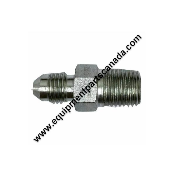"HYD FITTING 1/4 NPT MALE TO 1/4"" JIC MALE"