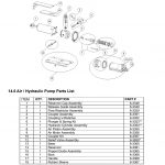 WHEELTRONIC JACK BEAM AIR MOTOR ASSEMBLY PARTS BREAKDOWN